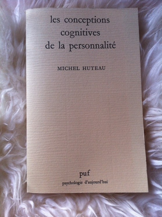 Les conceptions cognitives de la personnalité - Michel Huteau (1985)