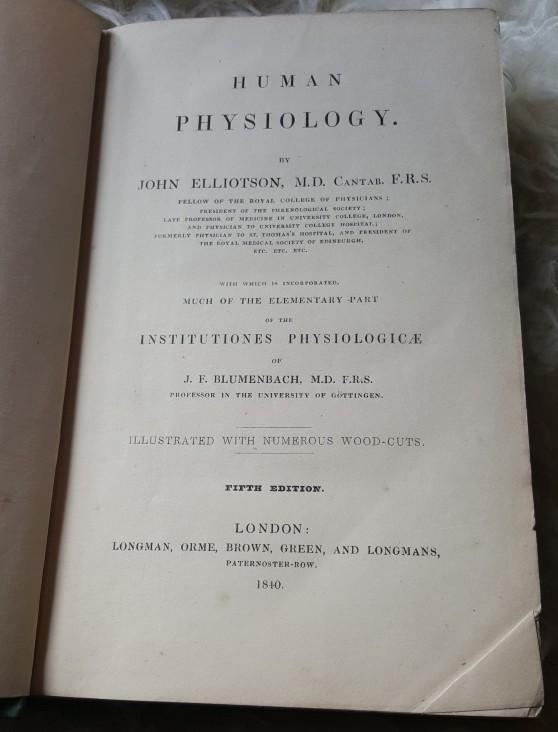 Human Physiology - J. Elliotson