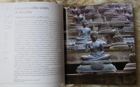 Les Quatres Nobles Vérités du Bouddha.